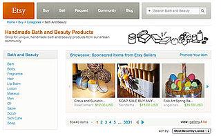 Tips For Shopping on Etsy