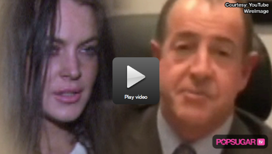 Video: Lindsay Lohan Spends a Late Night Out After Her Dad's Latest Public Plea 2010-03-31 10:15:00