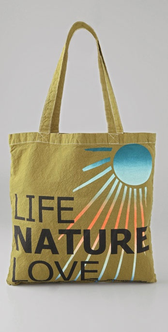 Freecity Life Nature Love Bag, approx $30, Shopbop