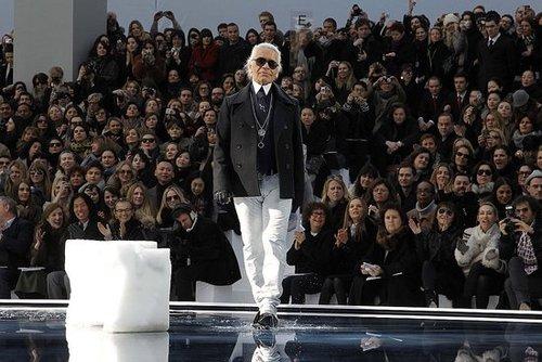 Karl Lagerfeld Retires!