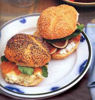 Fast and Easy Recipe for Tarragon Caper Egg Salad Sandwiches With Salmon