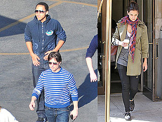 Photos of Katie Holmes Leaving Her Apartment in NYC