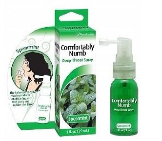 Deep-Throat Spearmint Spray For Oral Sex