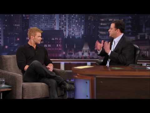 Kellan Lutz on Jimmy Kimmel Live PART 1
