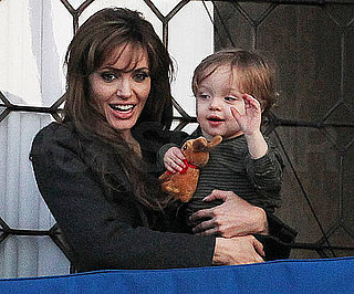 Slide Picture of Angelina Jolie and Knox in Venice