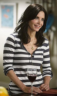Jules Cobb in Striped Shirt on Cougar Town 2010-04-14 15:00:00