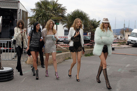 Karl Lagerfeld Shoots Short Film in Saint Tropez Over Weekend, Karolina Kurkova Among Cast
