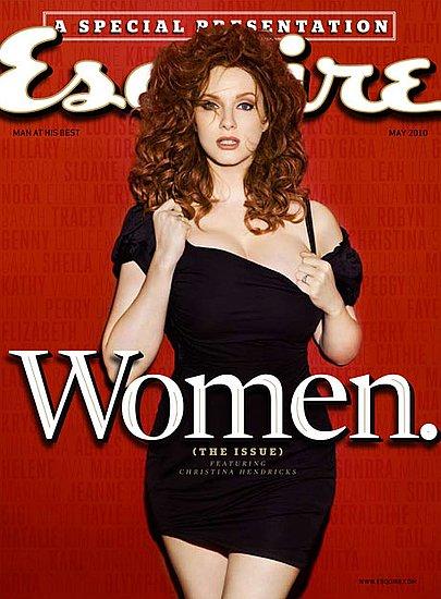 Christina Hendricks Pictures in Esquire