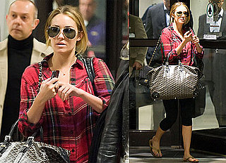 Pictures of Lauren Conrad Landing at LAX