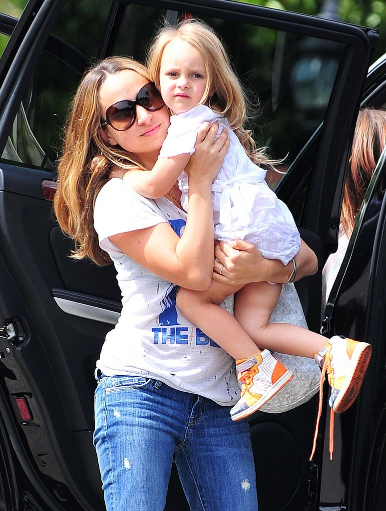 Jennifer Meyer looks natural with long hair.