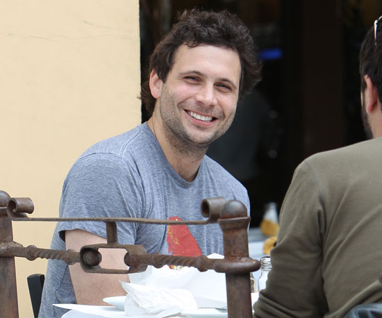 Slide Picture of Jeremy Sisto Eating Lunch in LA