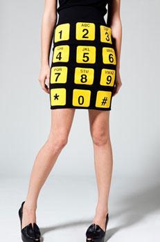 Jeremy Scott Phone Skirt