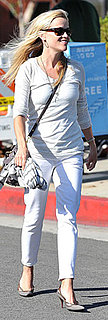 Reese Witherspoon Wore All White While Lunching in LA