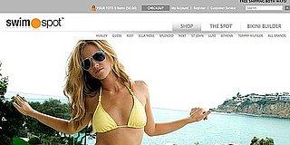 Stylish Swimsuit Website