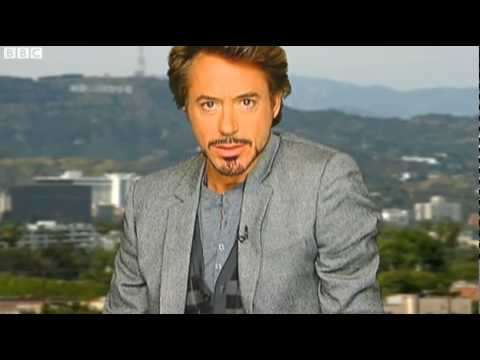 Robert Downey Jr's smoldering farewell on the Jonathan Ross Show