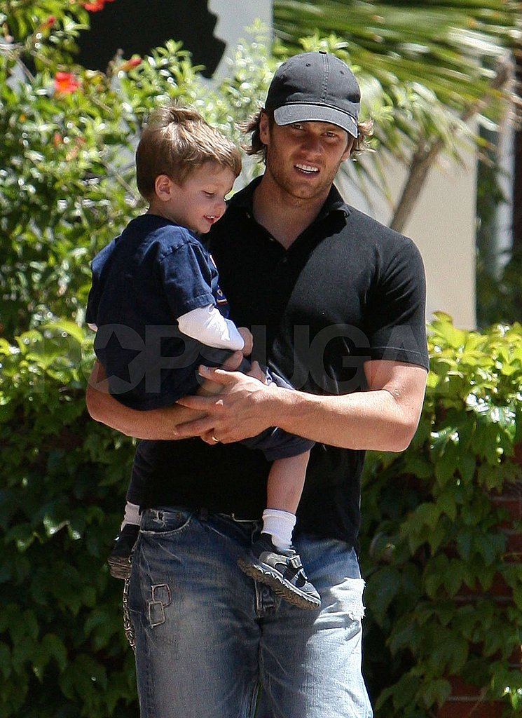 Pictures of Tom Brady and Jack Moynahan