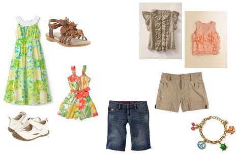 Girl's Summer Clothing