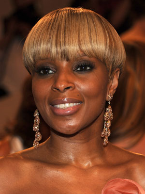 Mary J. Blige at 2010 Costume Institute Gala