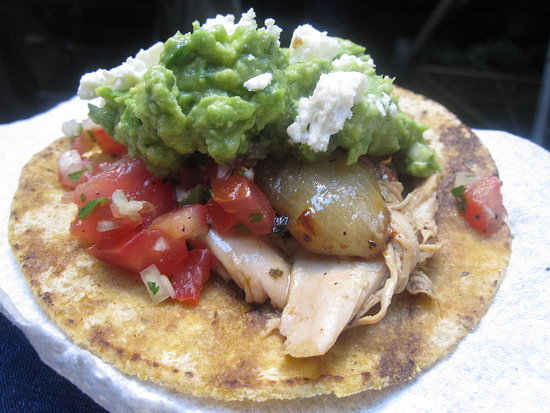 Chipolte Roast Chicken Tacos Recipe