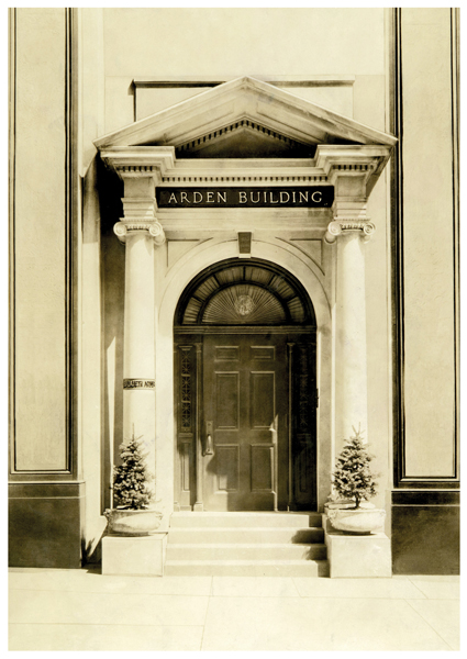 Elizabeth Arden Building on Fifth Avenue circa 1910