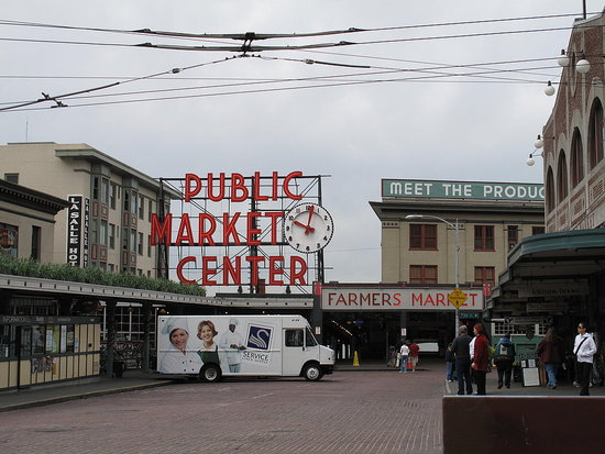 Pike Place Public Market in Seattle
