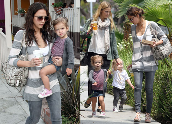 Pictures of Jessica Alba and Honor Warren on a Play Date in LA