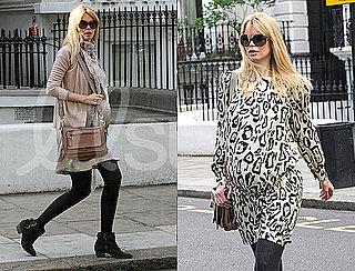 Claudia Schiffer Pregnancy Style