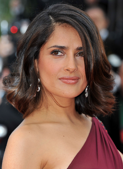 Salma Hayek at the Premiere of Robin Hood