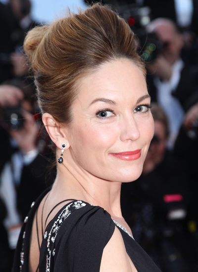 Diane Lane at the Premiere of Wall Street: Money Never Sleeps