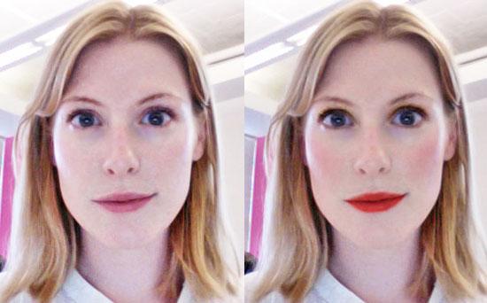 Virtual Makeover at Topshop