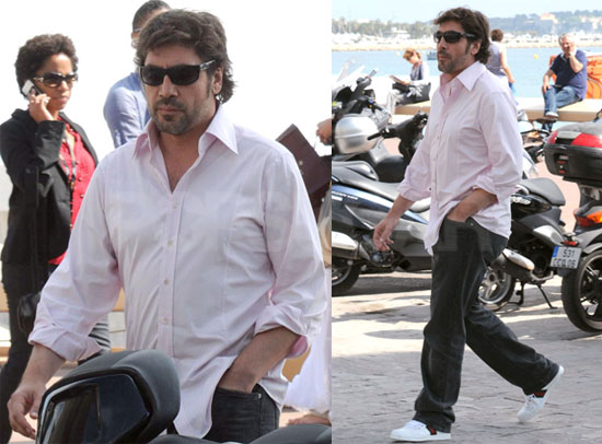 Pictures of Javier Bardem in Cannes