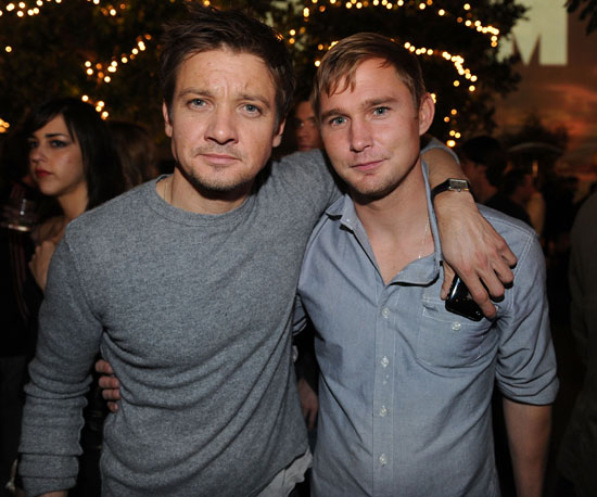 Slide Picture of Jeremy Renner and Brian Geraghty at Maxim Hot 100 Party