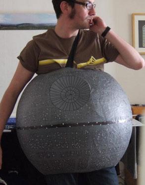 DIY Star Wars Death Star Halloween Costume