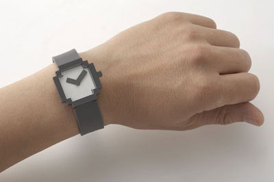 Pixel Icon Watch