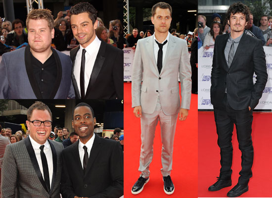 Pictures of Men at National Movie Awards Red Carpet Including Dominic Cooper, Joshua Jackson, Orlando Bloom