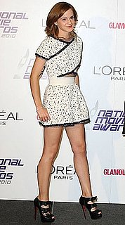 Emma Watson Wears Karl Lagerfeld and Christian Louboutin to National Movie Awards 2010-05-28 06:00:07