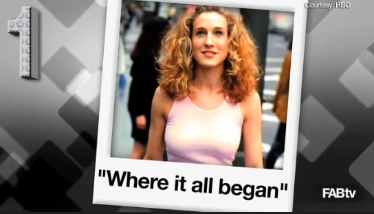 Don't miss FabTV's Carrie Bradshaw fashion flashback episode — so fun!