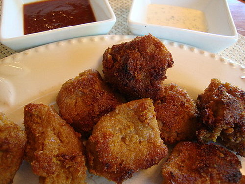 Breaded Seitan Nuggets