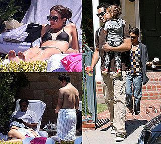 Pictures of Jessica Alba in a Bikini on Memorial Day in Newport Beach