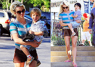 Photos of Britney Spears With Jayden James and Sean Preston in LA