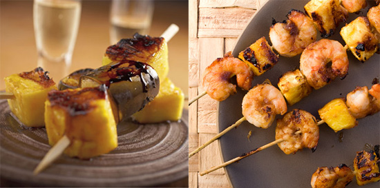 Sweet and Savory Recipes For Grilled Pineapple Skewers