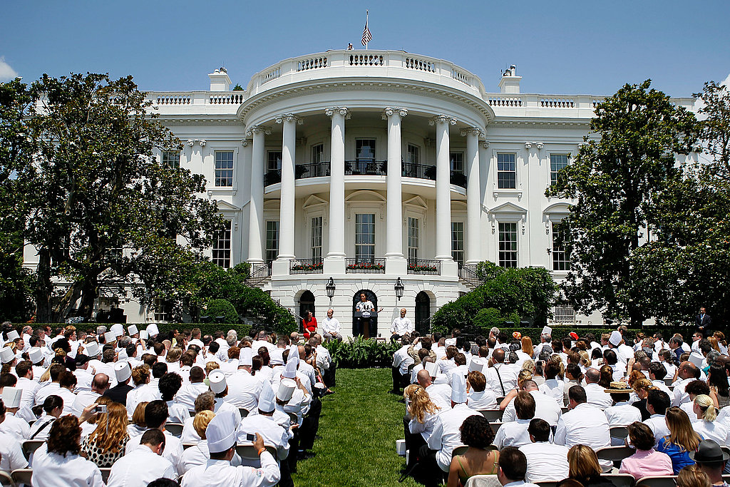 First Lady Michelle Obama addressed hundreds of chefs in her launch of the new Chefs Move! to Schools program.