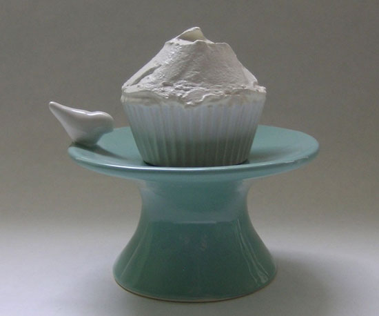 I'm absolutely smitten with this Ceramic Cupcake Stand ($38)!