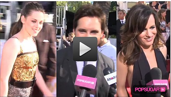 Exclusive Video: Kristen Stewart and The Twilight Cast on the MTV Movie Awards Red Carpet! 2010-06-07 11:55:00