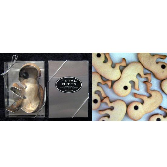 Fetal Cookie Cutter: Cute or Creepy?