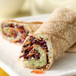 Avocado and White Bean Wrap Recipe