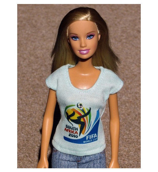 South Africa 2010 FIFA World Cup Doll T-Shirt