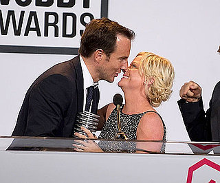 Slide Picture of Amy Poehler and Will Arnett at 2010 Webby Awards in NYC