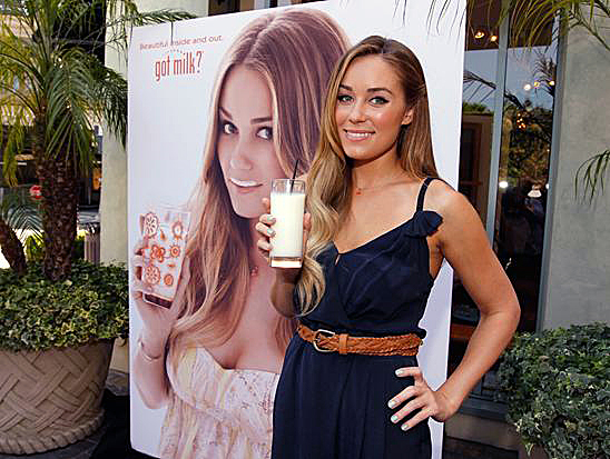 "Lauren Conrad ""Got Milk?"" Campaign"