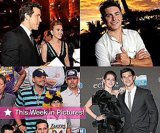 Pictures of Ryan Reynolds, Zac Efron, Leonardo DiCaprio and Kristen Stewart